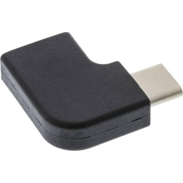 InLine® USB 3.1 Adapter, Typ C Stecker an C Buchse, gewinkelt (Gen.2)