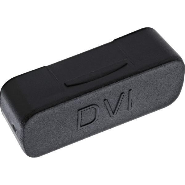 InLine® Staubschutz, für DVI Buchse, schwarz, 50er Pack