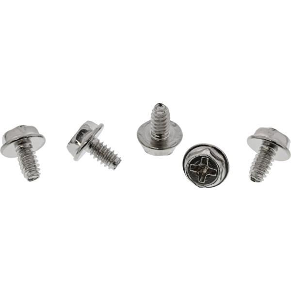 InLine® Schraubenset, für Slotbleche, 50-teilig