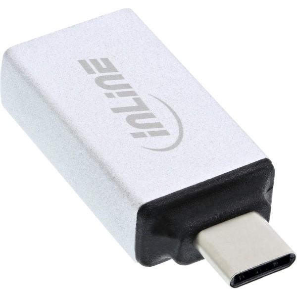 InLine® USB 3.1 Adapter, Typ C Stecker an A Buchse