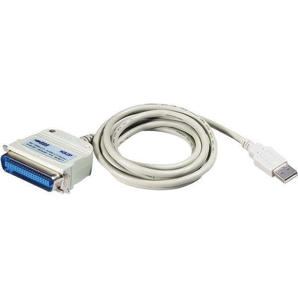ATEN UC1284B Drucker-Adapterkabel USB zu Parallel IEEE1284, 1,8 m