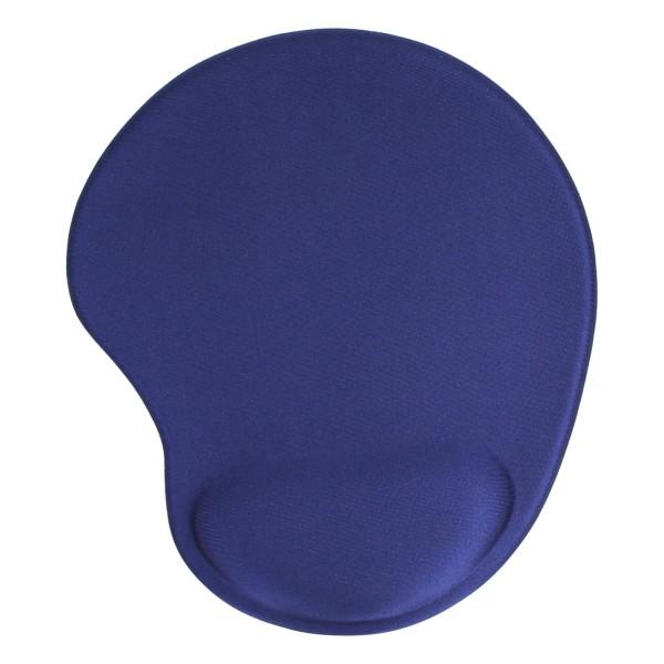 InLine® Maus-Pad, blau, mit Gel Handballenauflage, 230x205x20mm